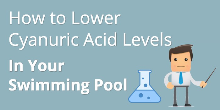 How To Lower The Cyanuric Acid Level In Your Pool Pool
