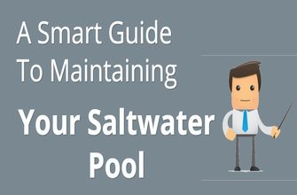how to clean and maintain a saltwater pool