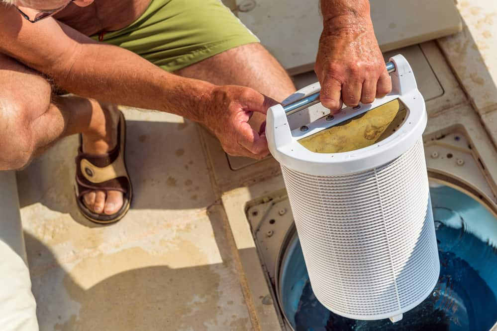 how to clean a pool filter